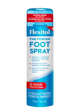 New Flexitol Fine Powder Foot Spray