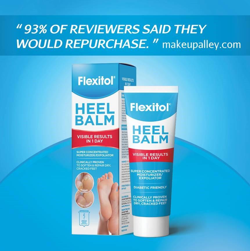 Makeup Alley reviewers love Flexitol Heel Balm